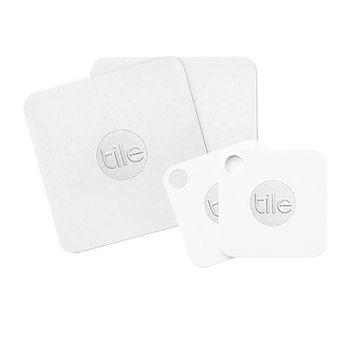 Tile MATE & Tile SLIM Key/Item Finder Combo - 4 Pack