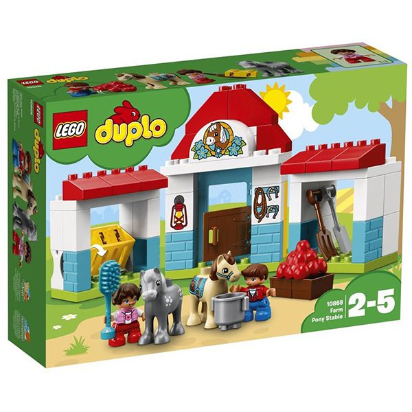 Lego DUPLO Farm Pony Stable Image