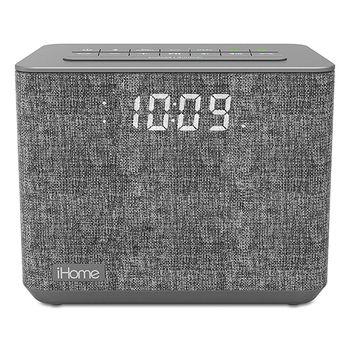 iHome iBT232 Bluetooth Alarm Clock Radio with USB Charging
