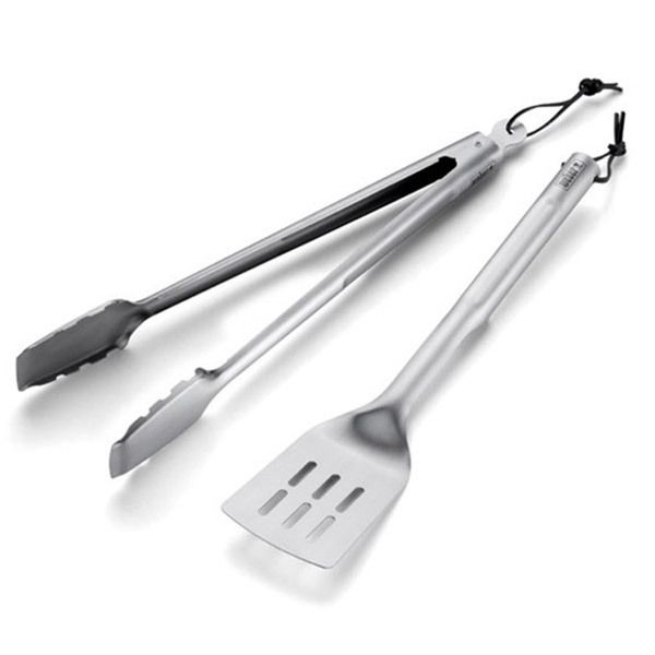 Weber Basics Stainless Steel Grill Tools Set 2pcs Image