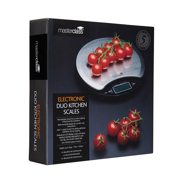 MasterClass Electronic Duo Kitchen ScalesImage