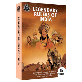 Amar Chitra Katha: Legendary Rulers Of India (15-in-1)
