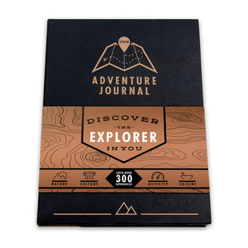 Luckies Adventure Journal with 8 Mini Scratch Maps®