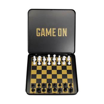 Iron & Glory GAME ON Mini Travel Chess Set