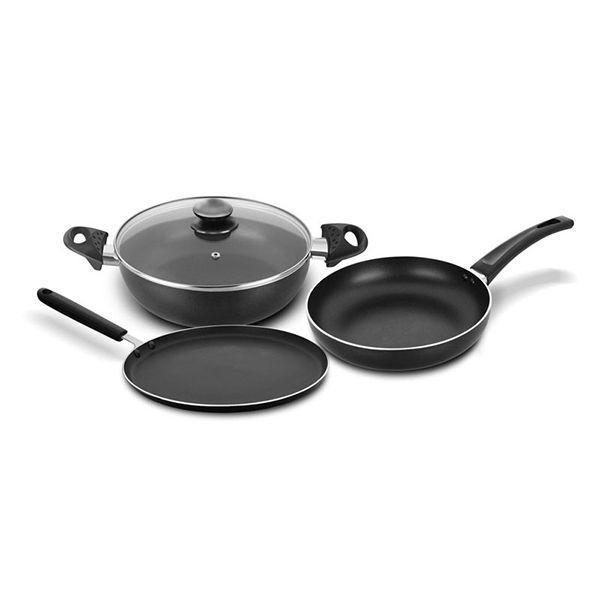 Bajaj MAJESTY Duo Cookware Set 3pcs Image
