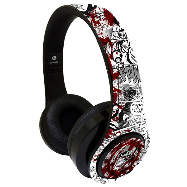 Macmerise SPLASH OUT IRONMAN Decibel Wireless On-Ear Headphones Image