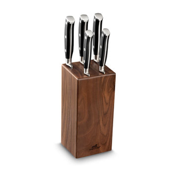 Lion Sabatier TOLEDE Block with 5 YSIS Knives