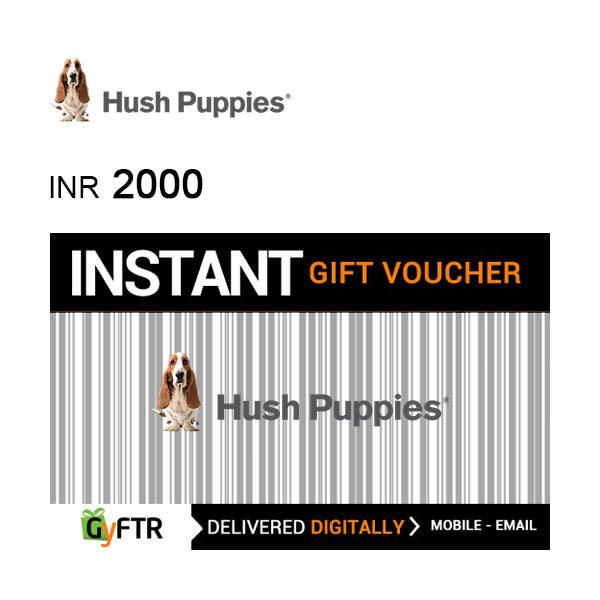Hush Puppies GyFTR Instant Gift Voucher INR2000 Image