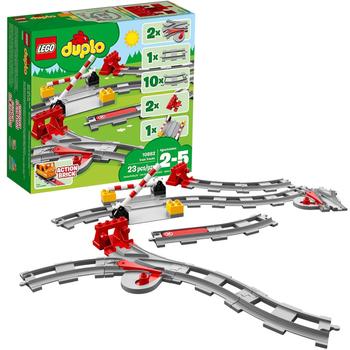 Lego DUPLO Eisenbahn Schienen Zubehör-Set