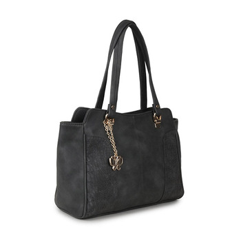 Butterflies Ladies Handbag BNS-0655GY