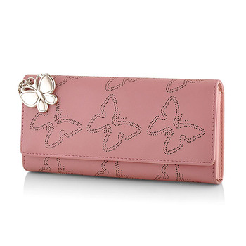 Butterflies Ladies Wallet BNS-2383BPK