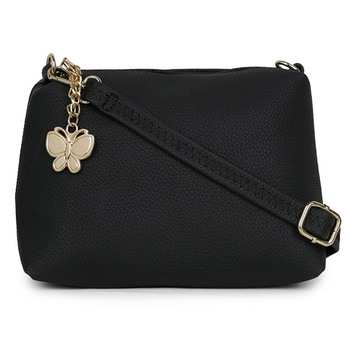 Butterflies Women's Sling Bag BNS-B-2038BK
