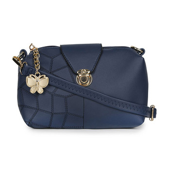 Butterflies Women's Sling Bag BNS-B-8032BL