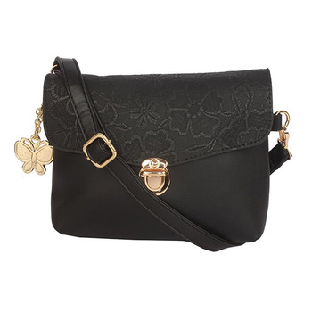 Butterflies Women's Sling Bag BNS-B-8806BK