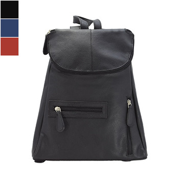 HOLEE Leather Backpack R-101