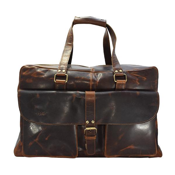 HOLEE Leather Travel Bag L-6 Image