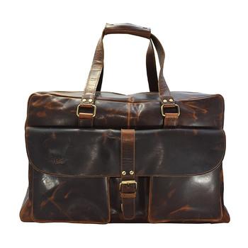 HOLEE Leather Travel Bag L-6