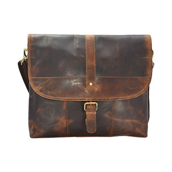 HOLEE Leather Laptop Bag L-164