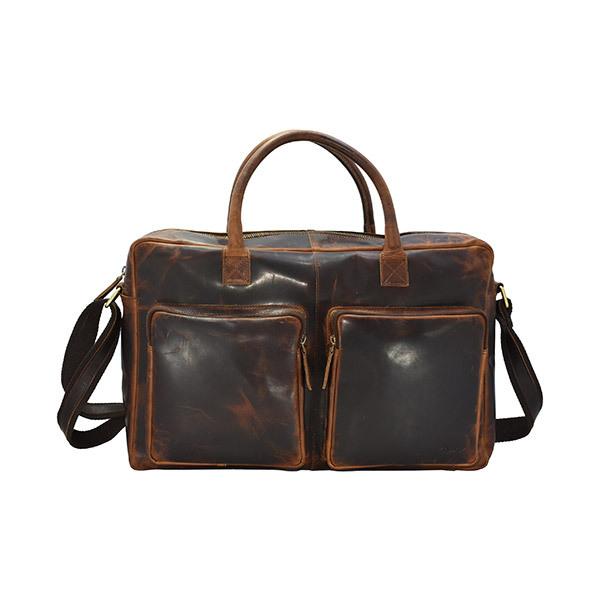 HOLEE Leather Travel Bag L-5 Image