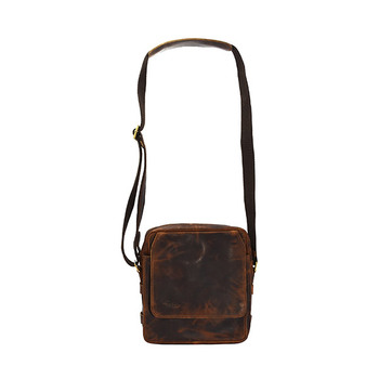 HOLEE Leather Crossbody Bag B-205