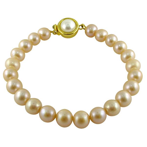 Sri Jagdamba Pearls Designer Pearl Bracelet JPNMA-2635 Image