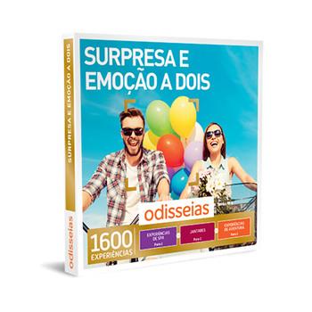 Surpresa e Emoção a Dois -1600 Experiências
