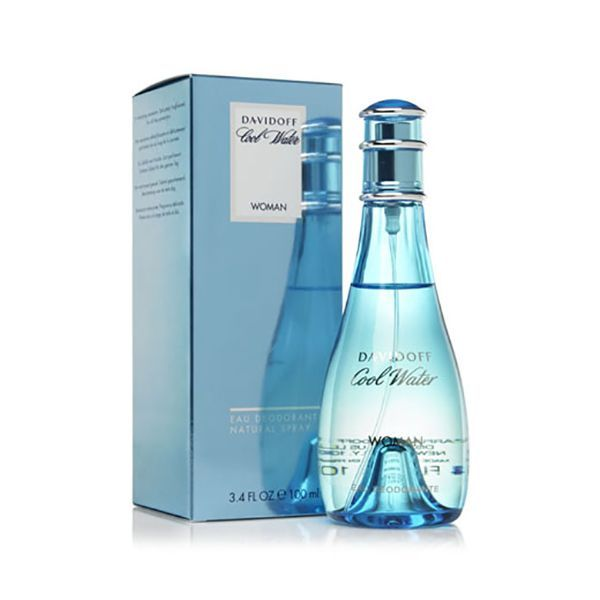 Davidoff COOL WATER Women's Body Spray 100ml Image