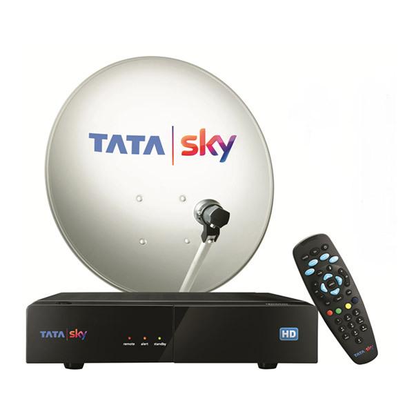 Tata Sky HD Set Top Box with 1 Month Family Kids Pack Image