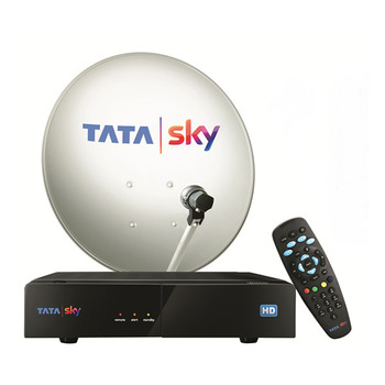 Tata Sky HD Box with 1 Month Family Kids Pack