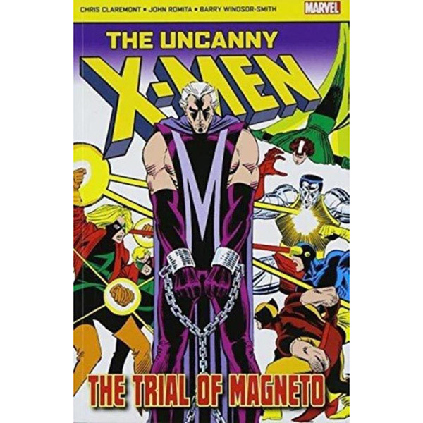 The Uncanny X-Men: The Trial Of Magneto Image
