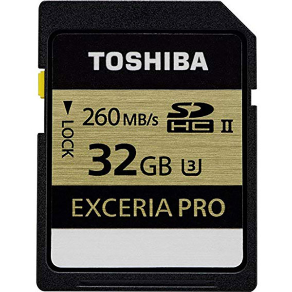 Toshiba EXCERIA PRO SDHC UHS-II Card 32GBImage