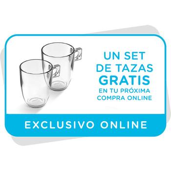 Vale para dos tazas de café gratis en tu próxima compra online