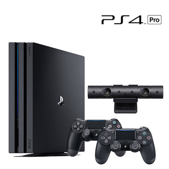 PlayStation Bundle: PS4 Pro 1TB + Camera + Controllers