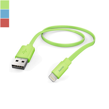 Hama USB-to-Lightning Charging Cable for iPhone, iPad