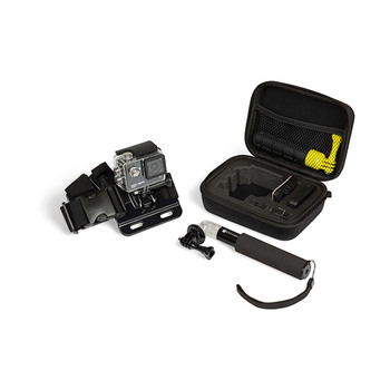 Kitvision Action Camera Case, Extension Pole + Chest Strap