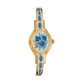 André Mouche FLORALI Ladies Watch - White/Gold