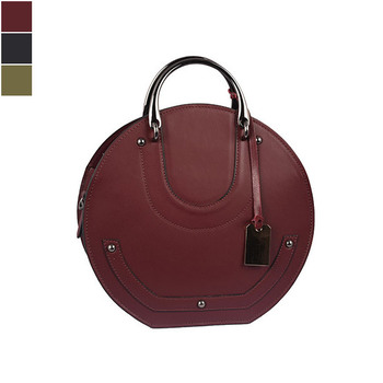 Emilio Masi BOM BOM Leather Shoulder Bag