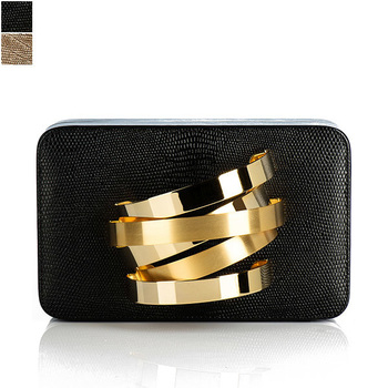 Rula Galayini COIL CUFFBOX Clutch Bag