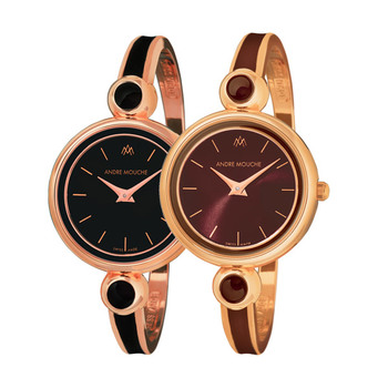 André Mouche ARIA Ladies Watch - Rose Gold