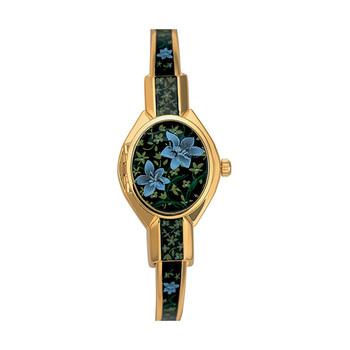 André Mouche FLORALI Ladies Watch - Black/Gold