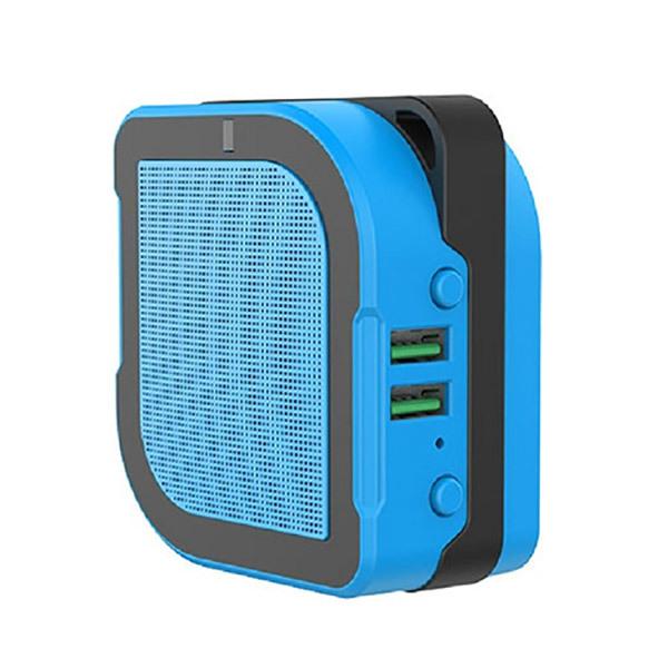 iGear Trio Smart Tech - Bluetooth Speaker + Power Bank + Adapter Image