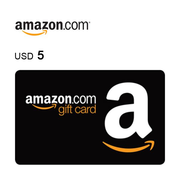 Amazon.com e-Gift Card $5Image