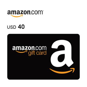 Amazon.com e-Gift Card $40