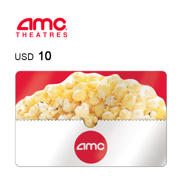 AMC Theatres e-Gift Card $10Image