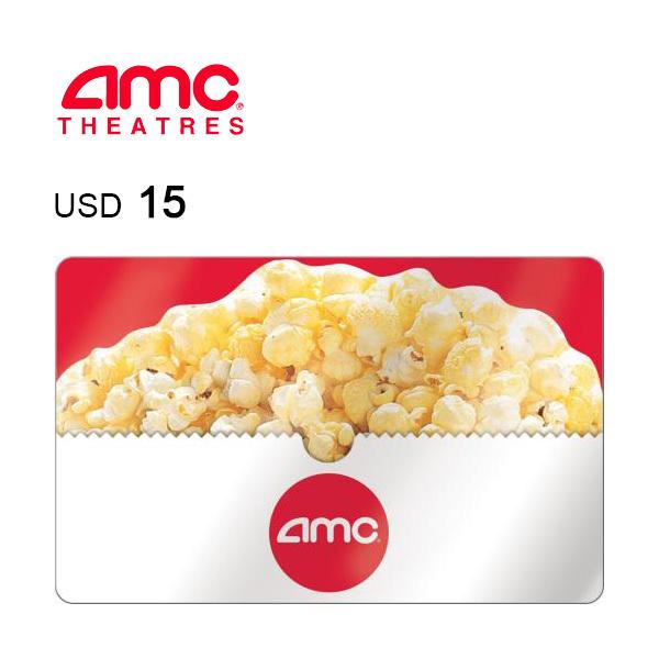 AMC Theatres e-Gift Card $15Image
