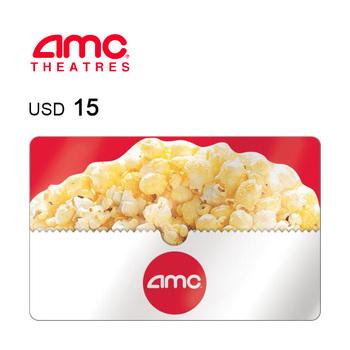 AMC Theatres e-Gift Card $15