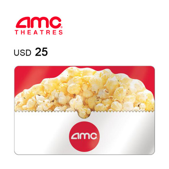 AMC Theatres e-Gift Card $25