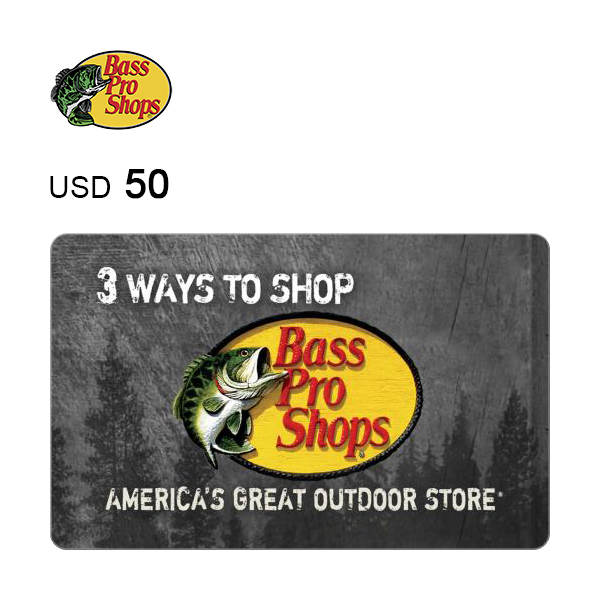 Bass Pro Shops e-Gift Card $50Image