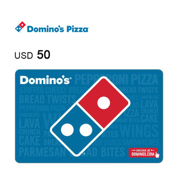 Domino's Pizza e-Gift Card $50