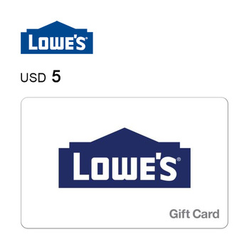 Lowe's e-Gift Card $5